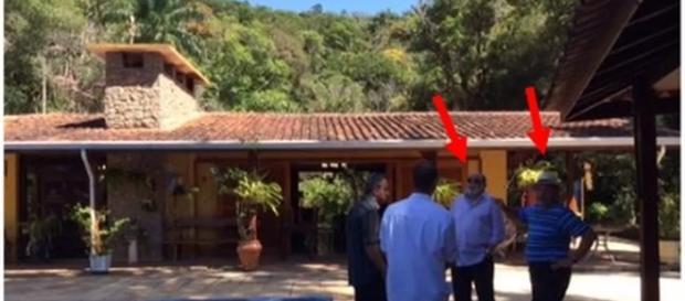 Lula, que dizia não conhecer Paulo Gotilho, aparece em foto ao lado do ex-diretor (Foto: Reprodução/Justiça Federal)