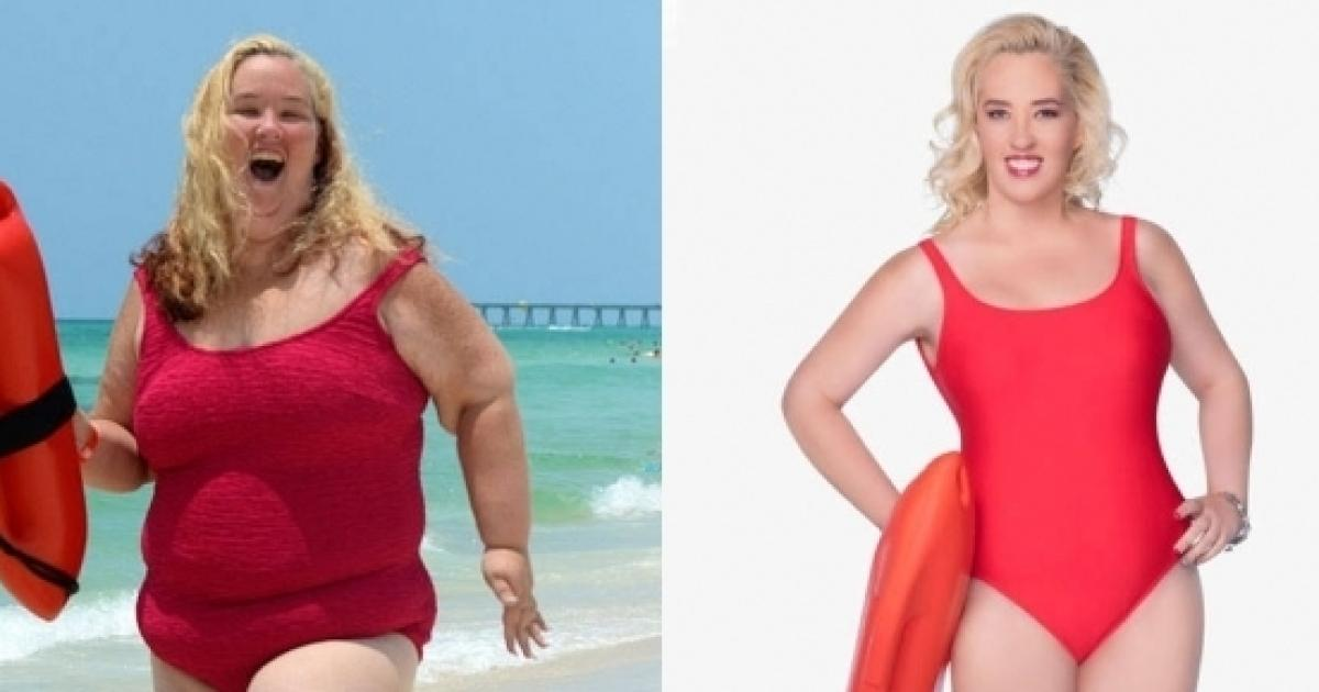 Mama June shows shes maintained huge weight loss one year