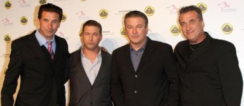 Da esquerda para a direita os Baldwins: William, Stephen, Alec e Daniel