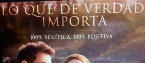 'Lo que de verdad importa' cuenta con el doblaje de José Ron y Livia Brito (via Twitter-LQDVI_MX)