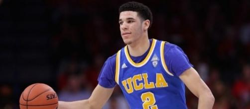 Lonzo Ball will only work out for the Lakers according to his father, LaVar Ball. [Image via Blasting News image library/inquisitr.com]