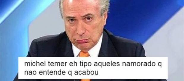 Confira memes e comentários de internautas sobre gravação comprometedora de Michel Temer (Foto: Reprodução/Twitter)