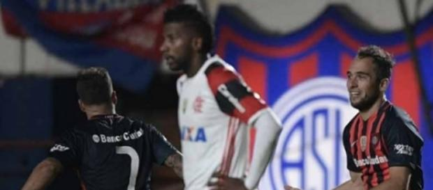 Derrota na Argentina custou a vaga do Flamengo