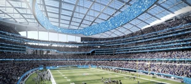 Los Angeles Rams stadium breaks ground in Inglewood, California ... - archpaper.com