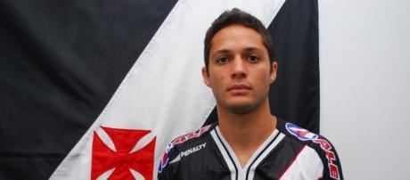 Anderson Martins em sua passagem pelo Vasco