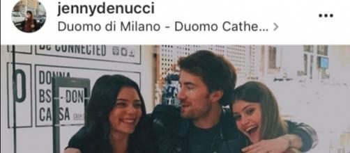 Eleonora Gaggero, Jenny De Nucci e Francesco Sole