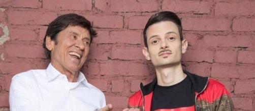 Gianni Morandi e Fabio Rovazzi protagonisti di Volare