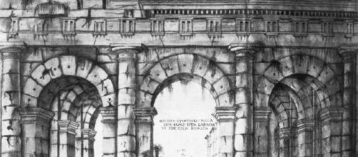 Giuliano da Sangallo, Rovine del Teatro di Marcello