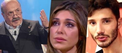 Gossip: Belen e Stefano ancora in coppia? L'opinione di Maurizio Costanzo.