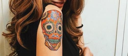 il nuovo tatuaggio di Beatrice Vendramin