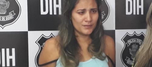 Leonice Moreira de Sousa é vesga e foi presa acusada de matar homem por engano em bar de Goiânia
