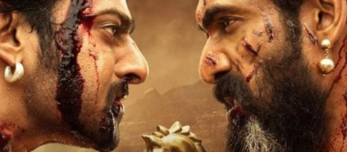 Prabhas and Rana Daggubati from 'Baahubali: The conclusion'