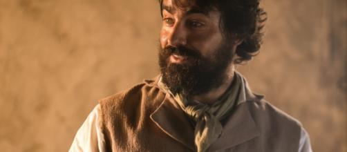 Ricardo Pereira é Ferdinando em Novo Mundo (Foto: Reprodução)