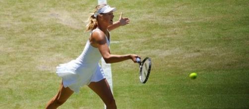 Sharapova at Wimbledon, Wikimedia Commons https://commons.wikimedia.org/wiki/File:Maria_Sharapova_%E2%80%93_Wimbledon_2009_02.jpg