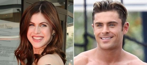 Are Zac and Alexandra taking their working relationship to the next level? (via Blasting New library)