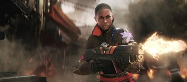 """""""Destiny 2"""" is set to arrive to Xbox One and PlayStation 4 on September 8, before arriving to PC at a later date. (via Gamespot/Bungie)"""