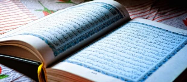 Holy Quran, the book who was sent to Prophet Mohamed, Allah's Messenger.