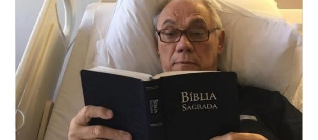 Marcelo Rezende disse ter falado com Deus