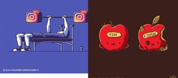 Imagens que monstra a realidade em que vivemos