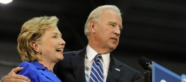 Joe Biden speaks about Hillary Clinton as a candidate - Photo: Blasting News Library - npr.org
