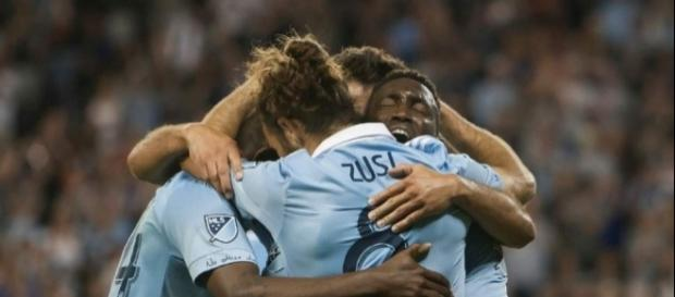 Photo Gallery :: MLS roundup: Fernandes' hat trick lifts Sporting ... - sltrib.com