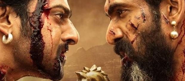 Prabhas and Rana Daggubati from 'Baahubali: The conclusion'