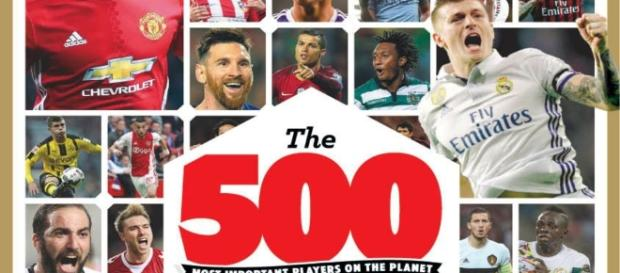 Revista lista os 500 mais importantes da temporada