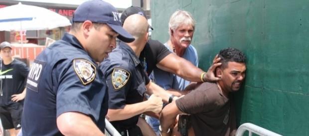 Times Square car crash kills 1, injures 22; Navy veteran cuffed ... - nydailynews.com