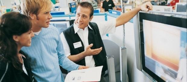 Vendedores possuem uma tarefa árdua