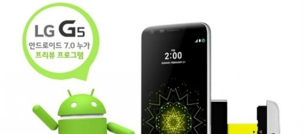 AT&T provide the older Android version and a month-old security patch for the unlocked LG G5.- youmobile.org