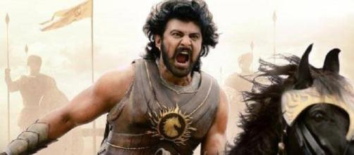 A still of Prabhas from Baahubali movie