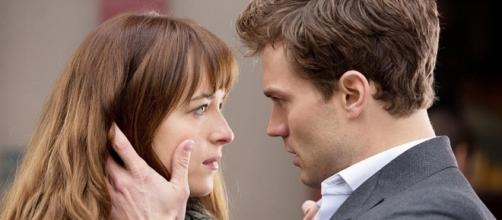 Are Jamie Dornan and Dakota Johnson taking their friendship to the next level? (via Blasting News library)