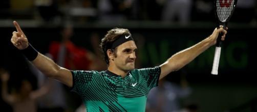 Fotos: Roger Federer, Masters de Miami 2017 - Tenis Web - tenisweb.com