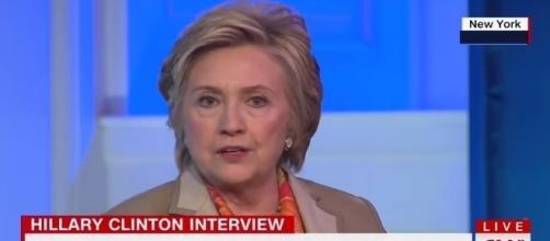 Hillary Clinton on Donald Trump, via YouTube
