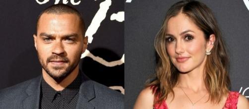 Jesse Williams and Minka Kelly are dating - bet.com