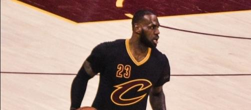 Lebron James of the Cleveland Cavaliers. Photo by Erik Drost -- CC BY 2.0
