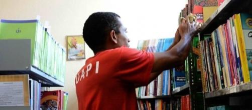 Leitura oferece outros caminhos e liberdade mais rápida aos presos