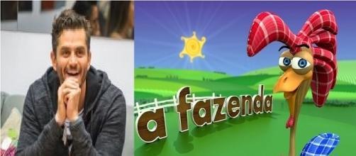 Marcos tem interessa de participar de A Fazenda (FotoMontagem)