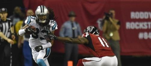 Panthers crush Falcons, roll into playoffs - The Boston Globe - bostonglobe.com