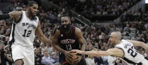 Rockets' 22 3-pointers dismantle Spurs, 126-99 in Game 1 - San ... - mysanantonio.com