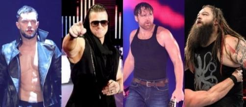 WWE 'Raw' featured a Triple Threat main event with outside involvement. [Image via Blasting News Image library/inquisitr.com]