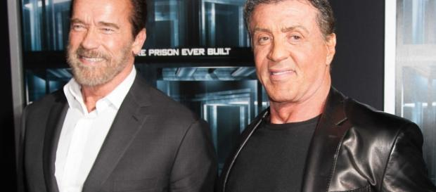 "Arnold Schwarzenegger refuses to do ""The Expendables 4"" without the presence of co-star Sylvester Stallone. Photo via Business Insider"