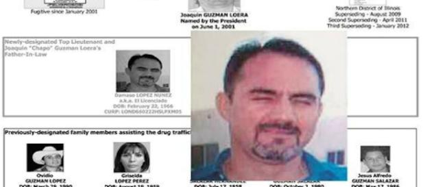 Dámaso López Nuñez, jefe del Cartel de Sinaloa, fue detenido por las autoridades mexicanas