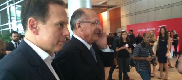Geraldo Alckmin e João Doria são dois potencias candidatos a presidente pelo PSDB