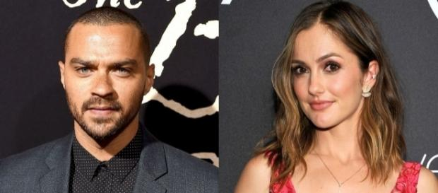 Jesse Williams and Minka Kelly are dating - bet.com