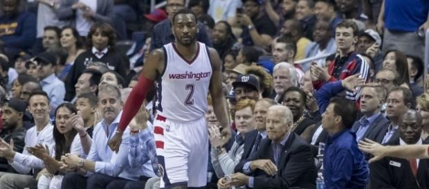 John Wall of the Washington Wizards. Photo by Keith Allison -- CC BY-SA 2.0