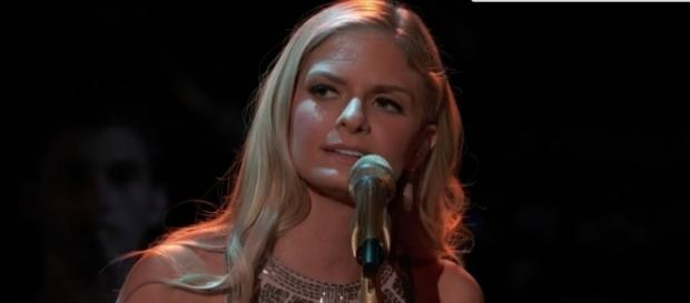 Lauren Duski of Team Blake performed well with iTunes voters following 'The Voice' May 1 live show on NBC. The Voice/YouTube