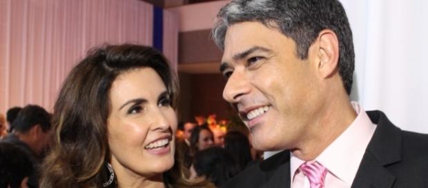 O casal anunciou o seu divórcio no ano passado