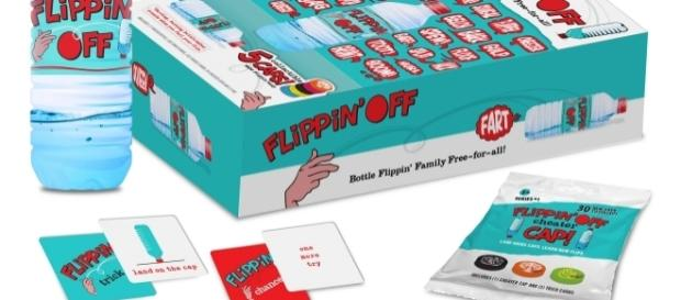 The 'Flippin' Off' campaign is now live on Kickstarter. / Photo via Erin Mortara, SouthardFreeman PR. Used with permission.