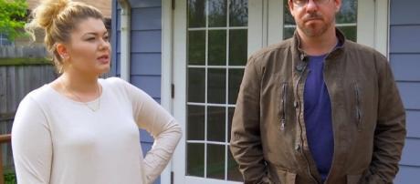 Amber Portwood & Matt Baier screen grab from Teen Mom OG
